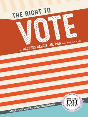 cover image of The Right to Vote
