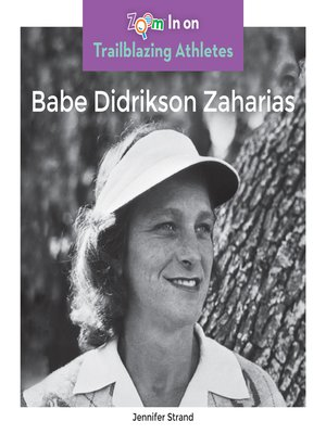 cover image of Babe Didrikson Zaharias