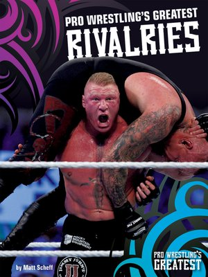 cover image of Pro Wrestling's Greatest Rivalries