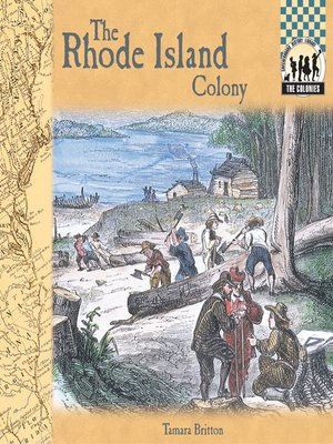 cover image of Rhode Island Colony