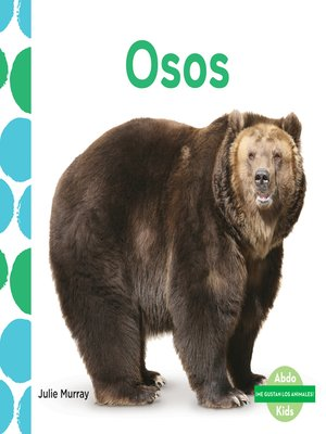 cover image of Osos (Bears)