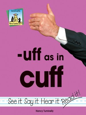 cover image of uff as in cuff
