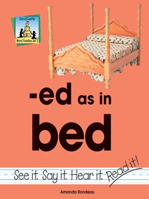 cover image of ed as in bed