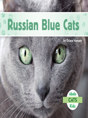cover image of Russian Blue Cats