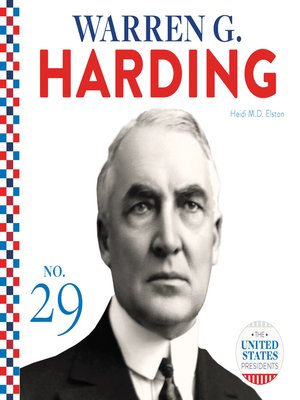 cover image of Warren G. Harding