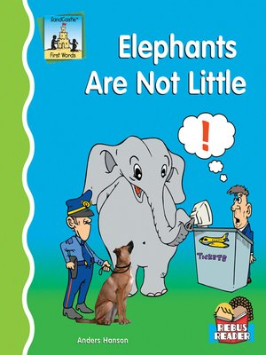 cover image of Elephants are Not Little