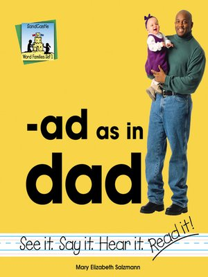 cover image of ad as in dad
