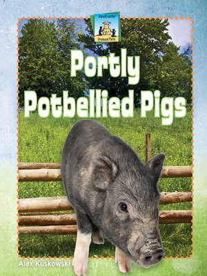 cover image of Portly Potbellied Pigs