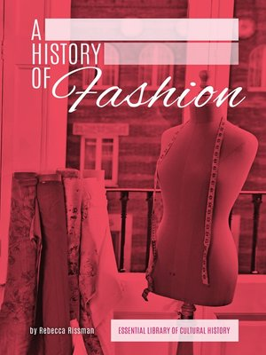cover image of History of Fashion