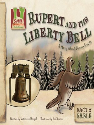 cover image of Rupert and the Liberty Bell