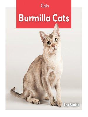 cover image of Burmilla Cats
