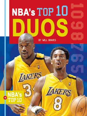 cover image of NBA's Top 10 Duos