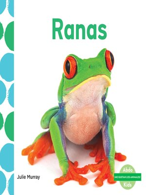 cover image of Ranas (Frogs)