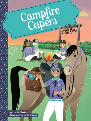 cover image of Campfire Capers