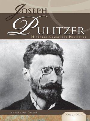 cover image of Joseph Pulitzer