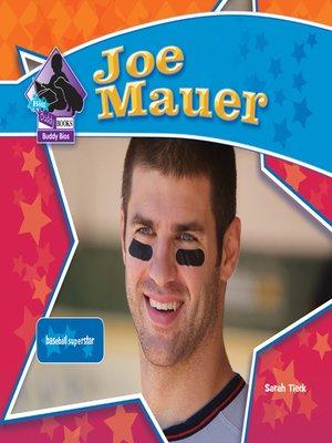 cover image of Joe Mauer