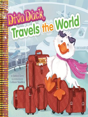 cover image of Diva Duck Travels the World