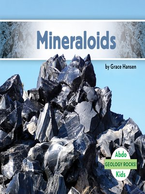 cover image of Mineraloids