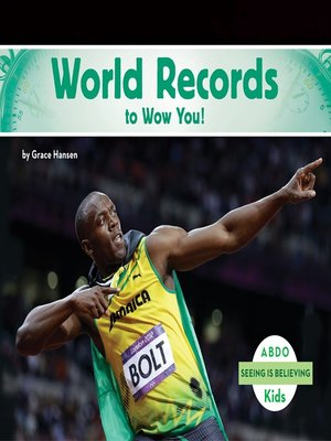 cover image of World Records to Wow You!