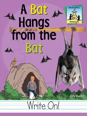 cover image of Bat Hangs from the Bat