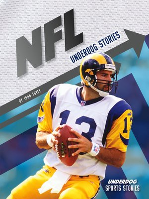 cover image of NFL Underdog Stories