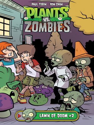 cover image of Plants vs. Zombies: Lawn of Doom (2017), Issue 2