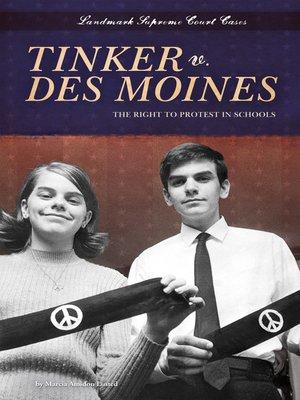 cover image of Tinker v. Des Moines