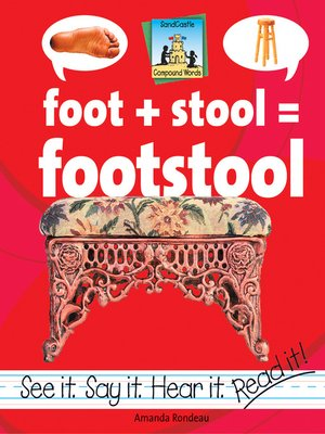 cover image of Foot + Stool=Footstool
