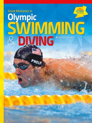 cover image of Great Moments in Olympic Swimming & Diving