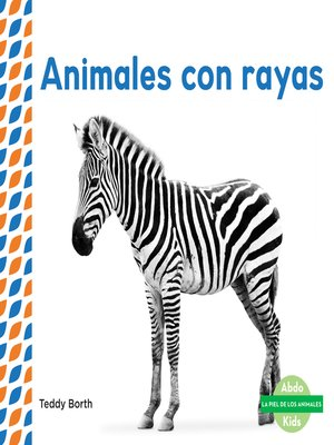cover image of Animales con rayas (Striped Animals )