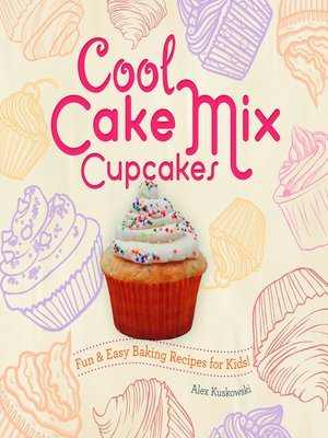 cover image of Cool Cake Mix Cupcakes