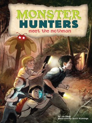 cover image of Meet the Mothman