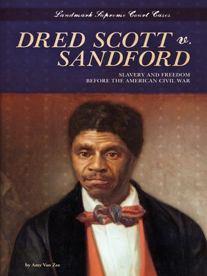 cover image of Dred Scott v. Sandford