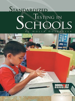 cover image of Standardized Testing in Schools