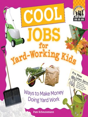 cover image of Cool Jobs for Yard-Working Kids
