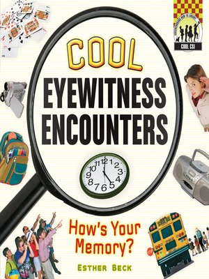 cover image of Cool Eyewitness Encounters