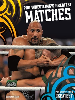 cover image of Pro Wrestling's Greatest Matches