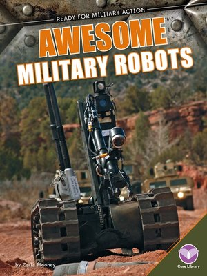 cover image of Awesome Military Robots