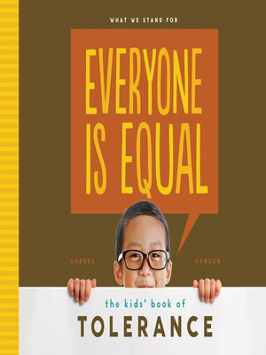 cover image of Everyone is Equal