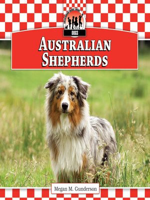 cover image of Australian Shepherds