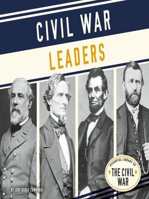 cover image of Civil War Leaders