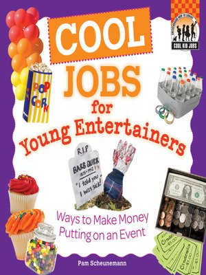 cover image of Cool Jobs for Young Entertainers