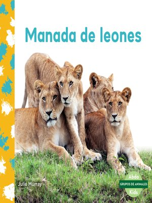 cover image of Manada de leones (Lion Pride)