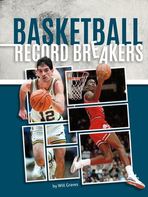 cover image of Basketball Record Breakers