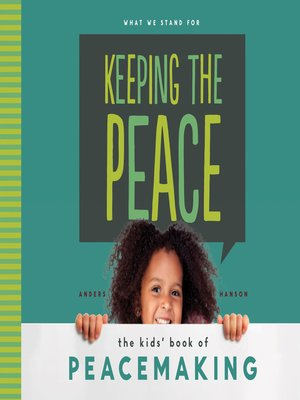 cover image of Keeping the Peace