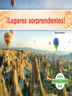 cover image of ¡Lugares sorprendentes! (Places to Amaze You! )