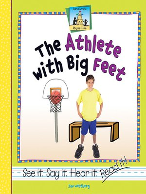 cover image of Athlete with Big Feet