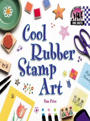 cover image of Cool Rubber Stamp Art