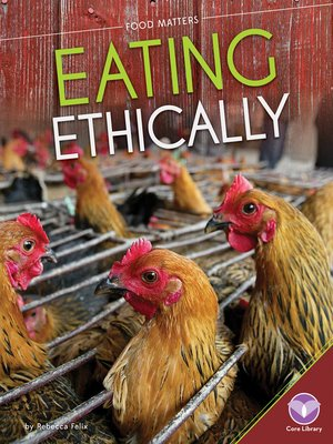 cover image of Eating Ethically