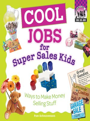cover image of Cool Jobs for Super Sales Kids